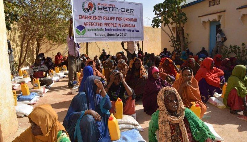 Lebensmittelhilfe in Somalia