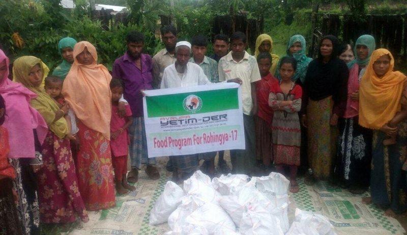 Humanitäre Hilfe für die geflüchteten Rohingya