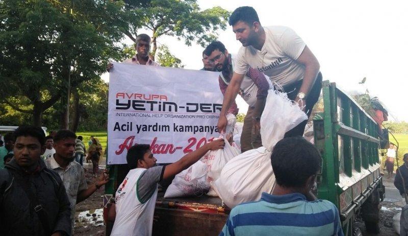Weitere Hilfsgüter für die geflüchteten Rohingya