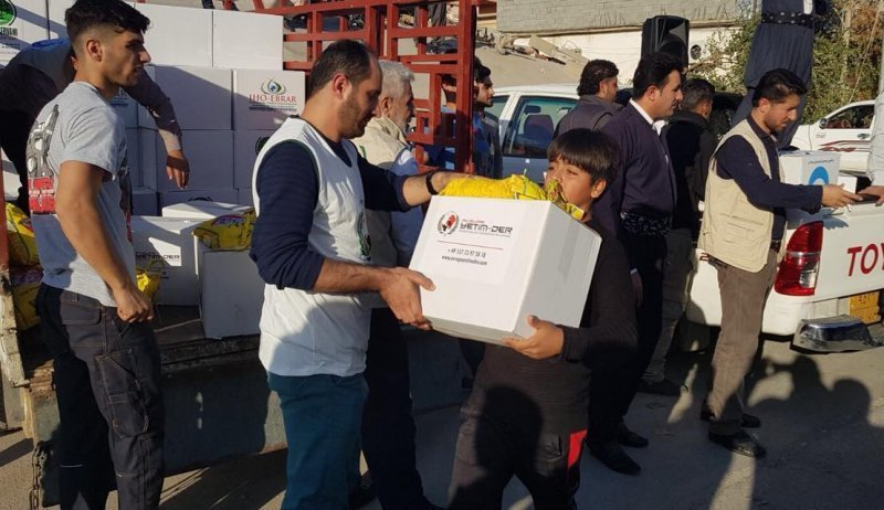 Schweres Erdbeben in der iranisch-irakischen Grenzregion