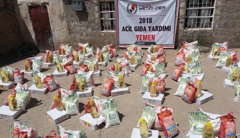 Yardımlarımız mağdur Yemen halkına ulaşmaya devam ediyor
