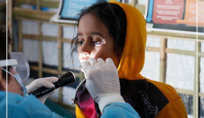 Medizinische Versorgung von Flüchtlingen in Bangladesch