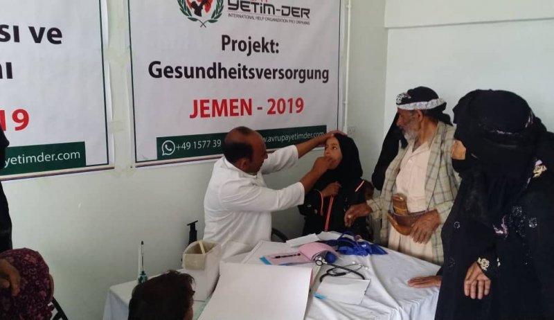 Yemen'de salgın hastalıklara karşı sağlık projemiz başladı