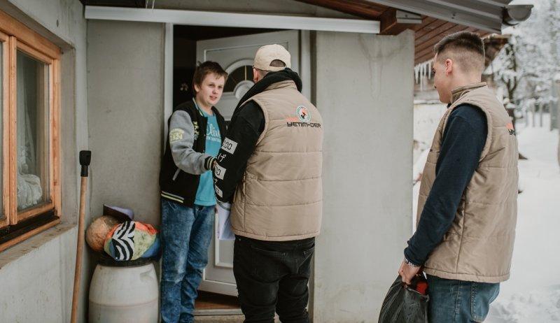 Winterhilfe und Einkommenssicherung Unterstützung in Bosnien