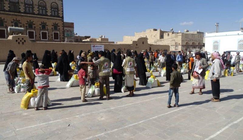 Yemenli mağdur ailelere yardımlarımız devam ediyor