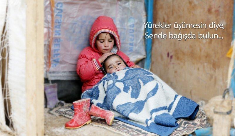 Spendenaufruf für Winterhilfen