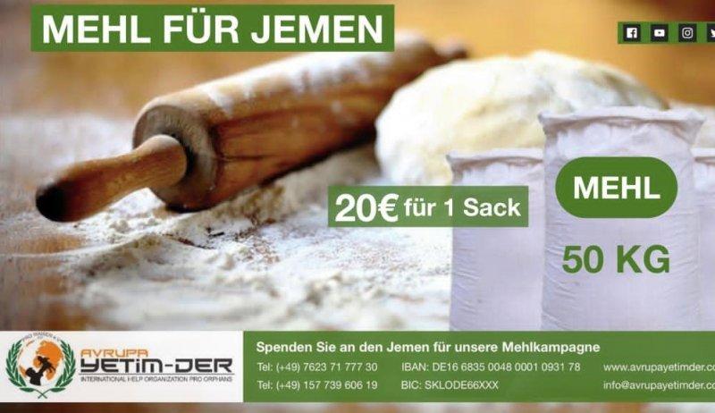 """""""Mehl für Jemen"""""""
