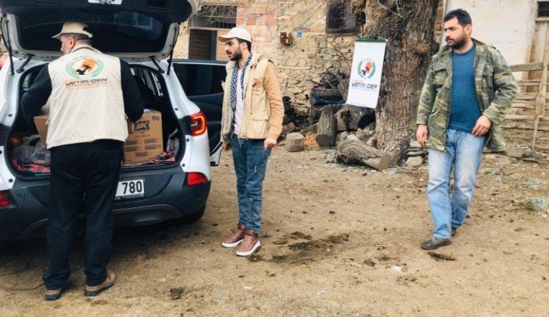 Avrupa Yetim-Der Elaziğ'da depremzedelerin yanında