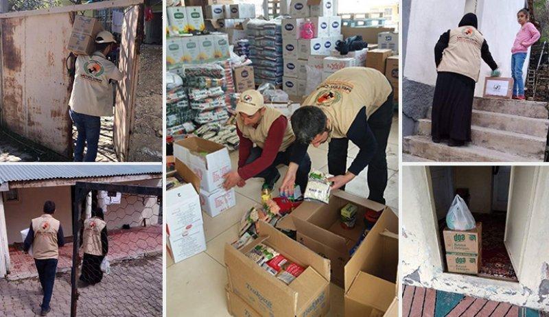 Ramazan yaklaşıyor, Avrupa Yetim-Der Korona mağdurlarına destek oluyor
