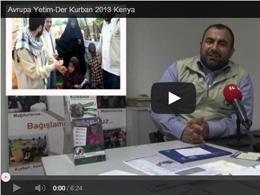 Avrupa Yetim-Der'den Kurban 2013 Afrika İzlenimleri