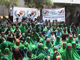 Kırtasiye Yardımlarımız Dadaab Mülteci Kampına Ulaştı