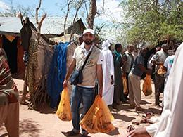 Avrupa Hayır Kafilesinden Afrika'da Kurban Dağıtımı