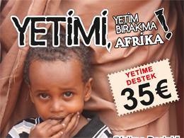 """Afrika İçin """"Kırtasiye Yardımı"""" ve """"Yetime Destek"""" Kampanyası"""