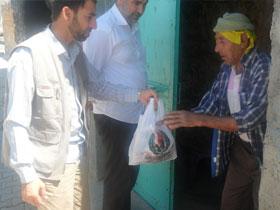 Mardin'de Gıda Yardımı
