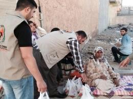Avrupa Yetim-Der'den Kobanili Mültecilere Yardım