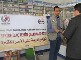 Gazze'ye İlaç Yardımımız Devam Ediyor...