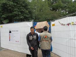 Avrupa-Yetim Der'den Mültecilere Yardım