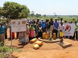 Said-i Nursi Camii Afrika'da Su Kuyusu Açtı
