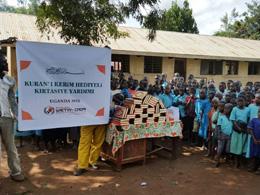 Uganda'ya Kırtasiye Yardımı