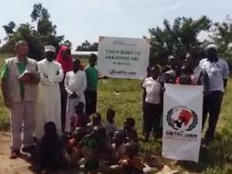 Afrika'da Yasin Börü Adına Su Kuyusu Açtırılıyor