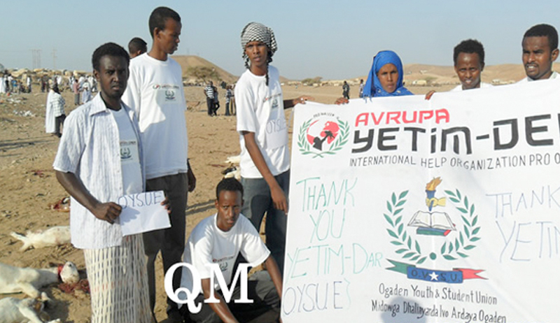 Kurban 2012: Avrupa Yetim-Der Eritre'de