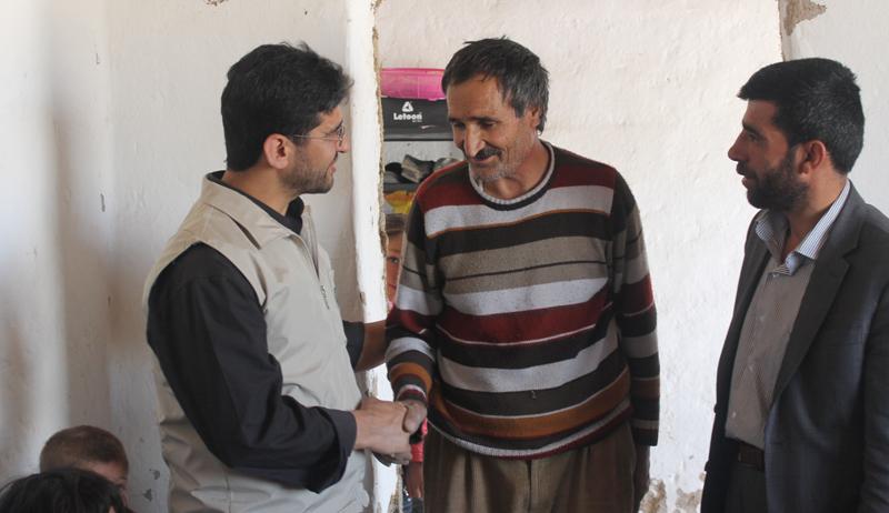 Avrupa Yetim-Der Van'da Yardımlarına Devam Ediyor