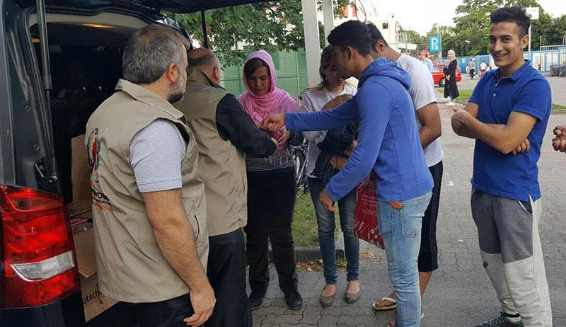 Avrupa Yetim-Der'den Mültecilere Yardım