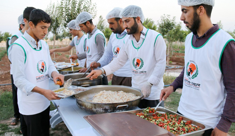 Projekt Iftar-Essen (Fastenbrechen) Ramadan 2016
