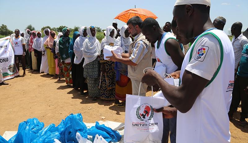 Avrupa Yetim-Der'den Burkina Faso'ya Kurban Yardımı