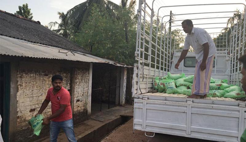Nothilfe in Sri Lanka