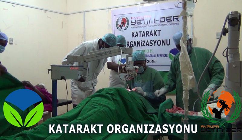Grauen Star-OP in Somalia erfolgreich durchgeführt